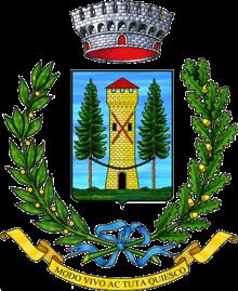Lo stemma comunale.
