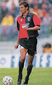 Allegri al Cagliari nel 1994