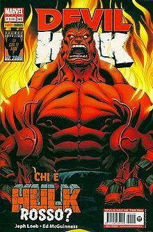 Hulk rosso (disegnato da Ed McGuinness)