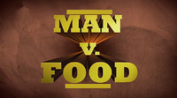 Logo del programma Man vs. Food