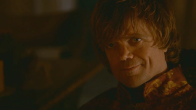 Tyrion interpretato da Peter Dinklage
