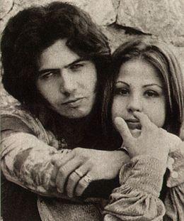 Rodolfo Baldini e Ottavia Piccolo nel 1969.
