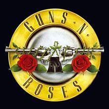 tipico logo dei Guns N' Roses