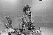 Franca Valeri nei panni della Signora Cecioni nel 1969