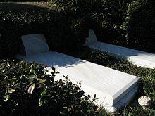 Le tombe di Duane Allman e Berry Oakley nel Rose Hill Cemetery di Macon (Georgia).