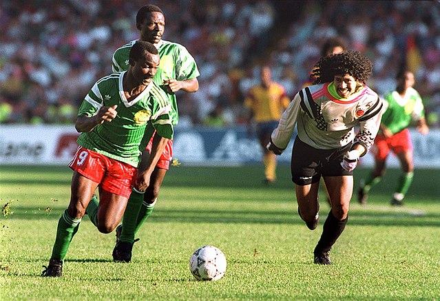 Italia 90 - Roger Milla e René Higuita