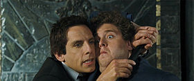 Ben Stiller e Jonah Hill in una scena del film.