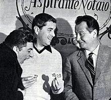 Raffaele Pisu con Gino Bramieri e Roberto Villa ne L'amico del giaguaro (1961)