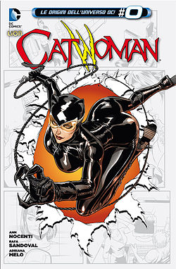 Catwoman, disegnata da Guillem March