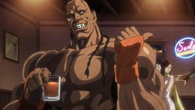 Dee jay in Street Fighter IV Story