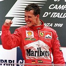 Michael Schumacher, il pilota più vincente alla guida di una Ferrari e in Formula 1.