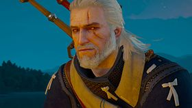 Geralt in The Witcher 3: Wild Hunt