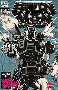 War Machine, disegnato da Kevin Hopgood