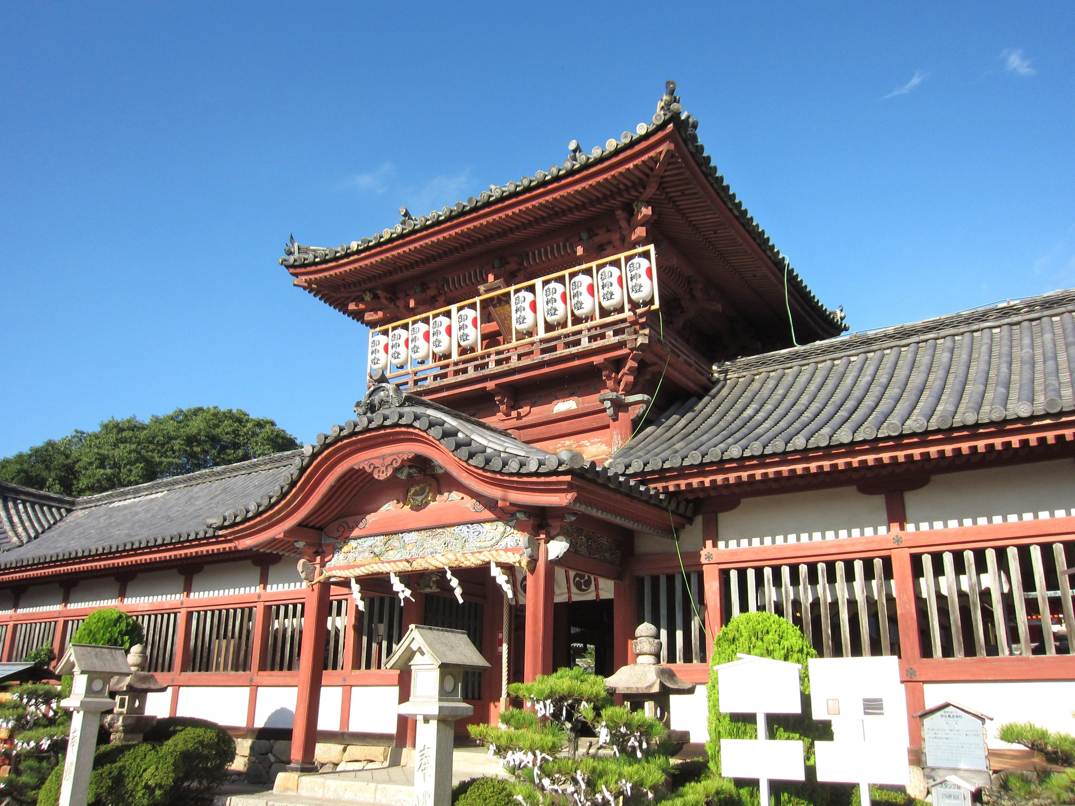伊佐爾波神社楼門