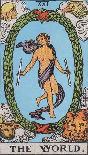 ファイル:RWS Tarot 21 World.jpg