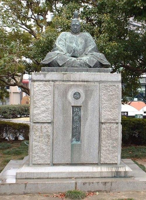 小早川隆景像(三原市)Wikipediaより