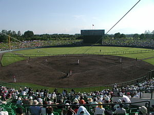 The woods baseball field in Obihiro06-8-27-2.jpg
