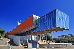 Kochi The Sakamoto Ryoma Memorial Museum Exterior 1.jpg