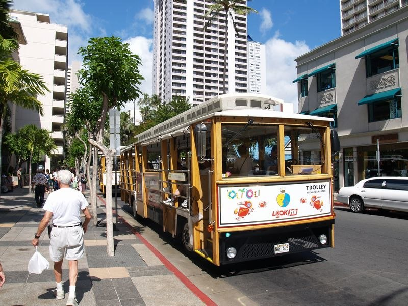 Hawaii trolleybus 01