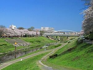 利根運河's relation image