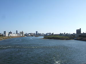 Old Ohta River at Hiroshima 02.jpg