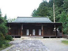 Takayama Shorenji temple main hall.jpg