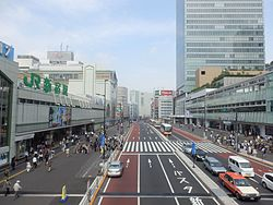 Shinjuku south and kosyu exit.JPG