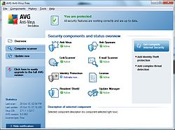 Interface AVG Anti-Virus 9 Free Edition.jpg