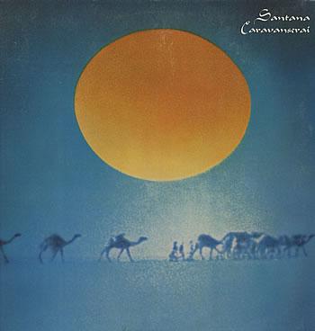 Unique Santana Caravanserai Vinyl