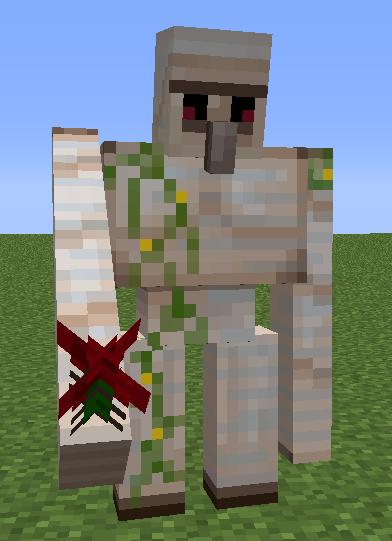 Iron golem png - Minecraft golem de fer ...