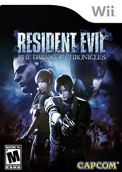 Resident Evil The Darkside Chronicles-ის გარეკანი.jpg