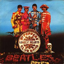 Sgt. Pepper's Lonely Hearts Club Band/With a Little Help from My Friends ყდა