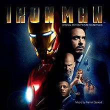 ალბომის Iron Man - Original Motion Picture Soundtrack ყდა