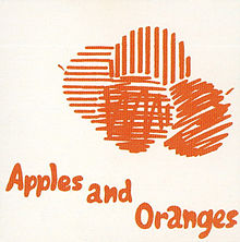 Apples And Oranges ყდა
