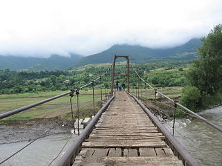 Bridge at village-Tagveti.JPG