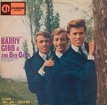 ალბომის The Bee Gees Sing and Play 14 Barry Gibb Songs ყდა