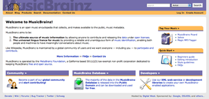 MusicBrainz homepage.png