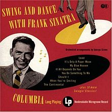 ალბომის Swing and Dance with Frank Sinatra ყდა