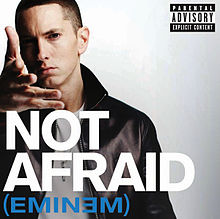 Not Afraid ყდა