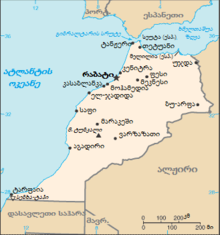 Map of Morocco from CIA World Factbook KA.png