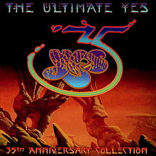ალბომის The Ultimate Yes: 35th Anniversary Collection ყდა