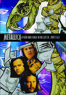ალბომის A Year and a Half in the Life of Metallica ყდა