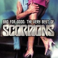 ალბომის Bad for Good: The Very Best of Scorpions ყდა