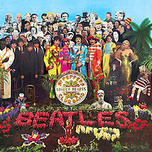 ალბომის Sgt. Pepper's Lonely Hearts Club Band ყდა