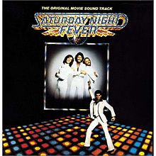 ალბომის Saturday Night Fever: The Original Movie Sound Track ყდა