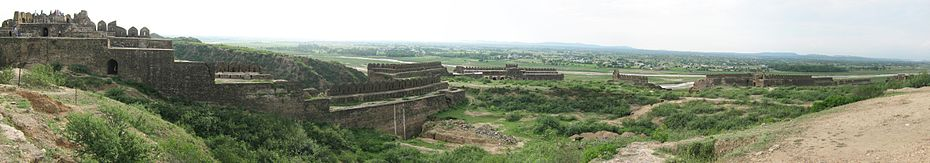 Broken Boundries of Rohtas Fort.jpg