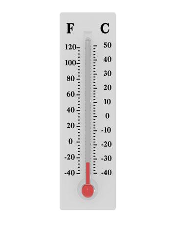 Как сделать что бы на градуснике показывало температуру