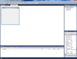 Visual Basic Express screenshot.png