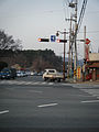 Gujeong three-way, Gyeongju (bulguksa direction).jpg