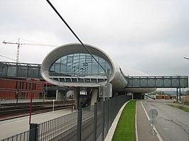 Belval-Université railway station